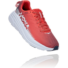 Hoka One One Rincon 2 Running Shoes Women hot coral/white